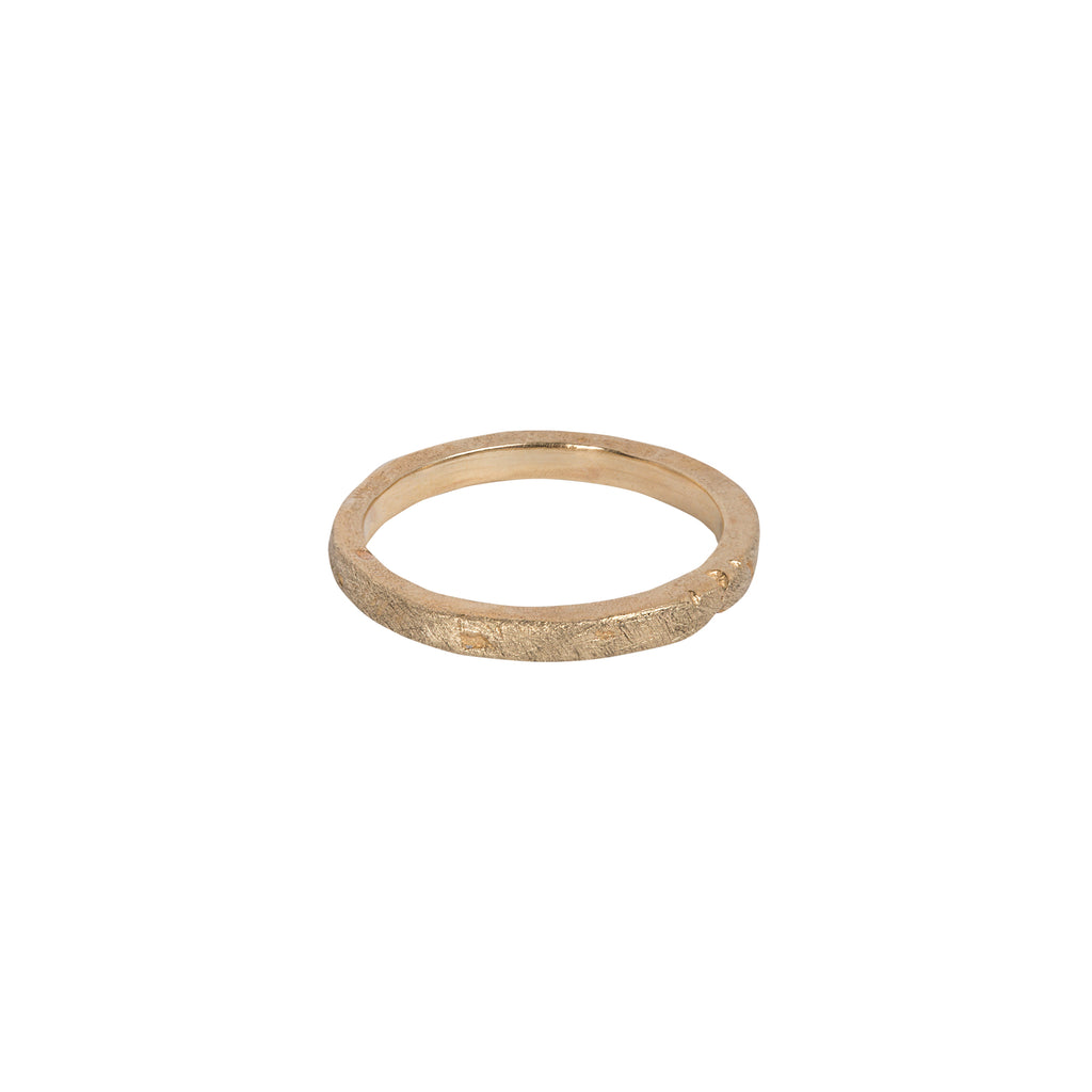 Sandcast Ring - 2.5mm