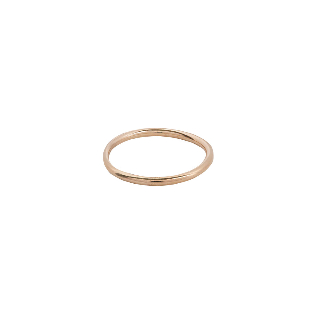 Slim 14k Gold Band