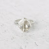 Herkimer Diamond Statement Ring in Sterling Silver No.2