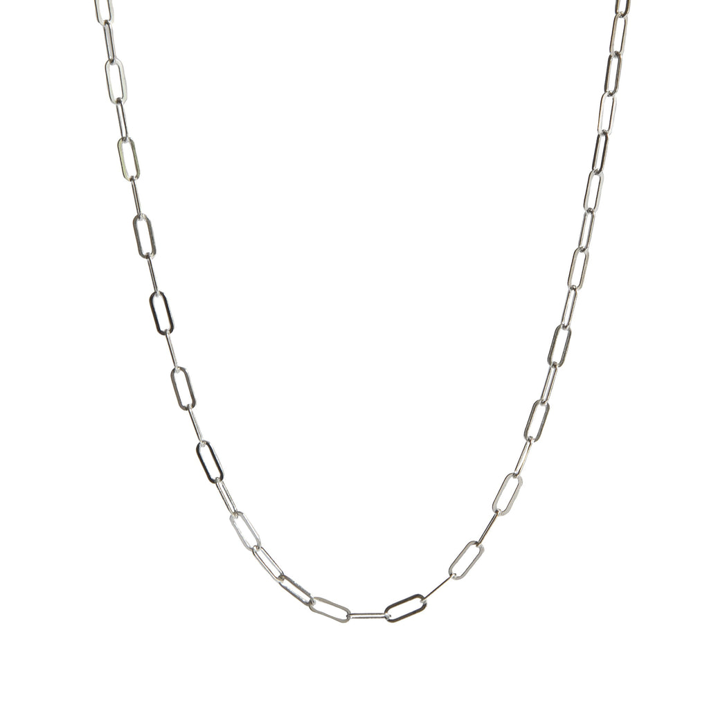Glimmer Necklace in Silver