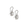 Herkimer Diamond Drop Earring in Sterling Silver