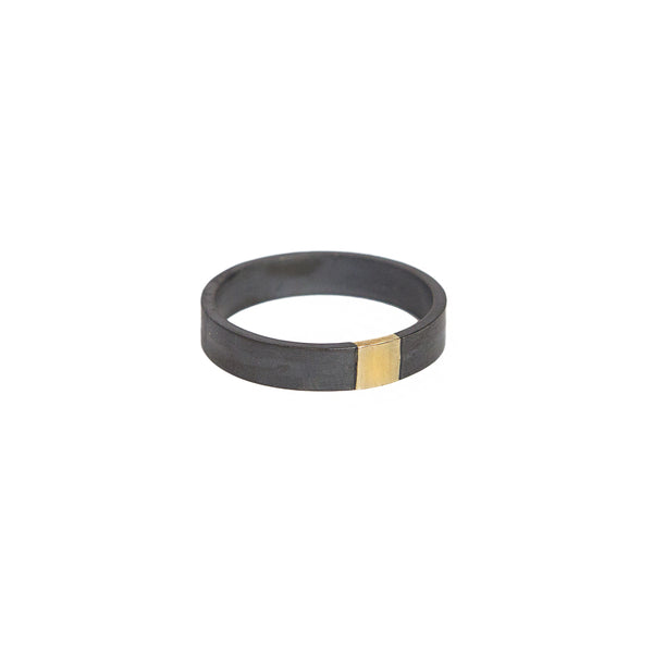 The Black + Gold Band - 4mm