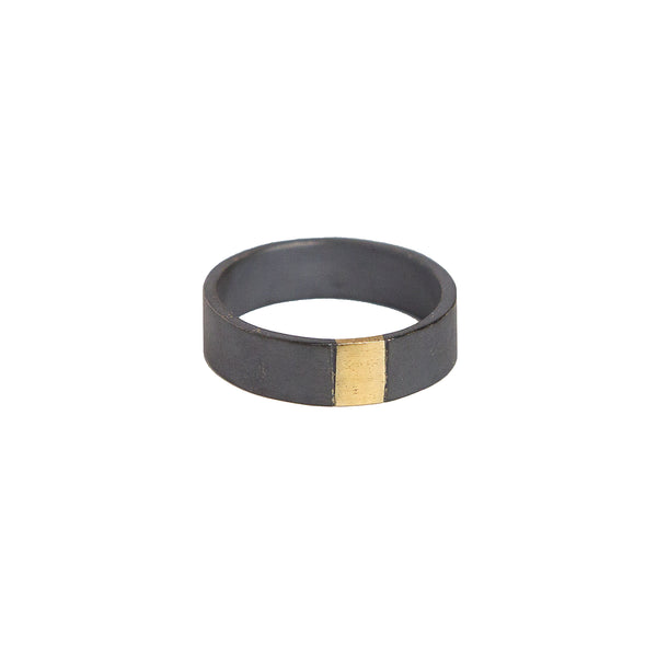 The Black + Gold Band - 6mm