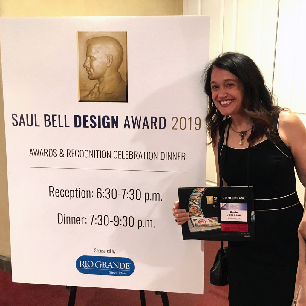 A Fun Trip to Albuquerque ... Where I Won the Saul Bell Award!