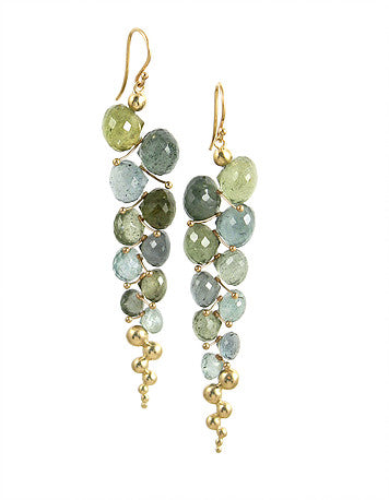 Rachel Atherley caviar earrings on karin jacobson design holiday wish list