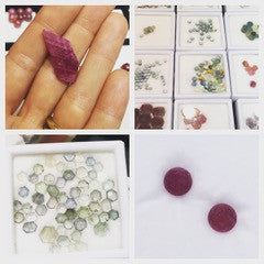 Fair trade rubies and Montana sapphires from Columbia Gem House