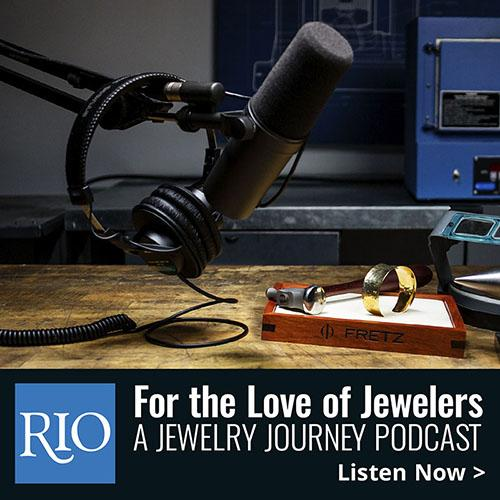 Rio Grand podcast For the Love of Jewelers featuring Karin Jacobson Jewelry