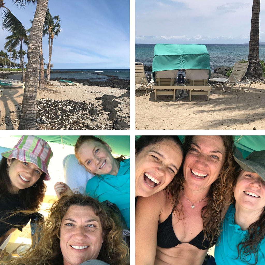 Karin Jacobson Jewelry Design Hawai'i vacation beach fun with cousins