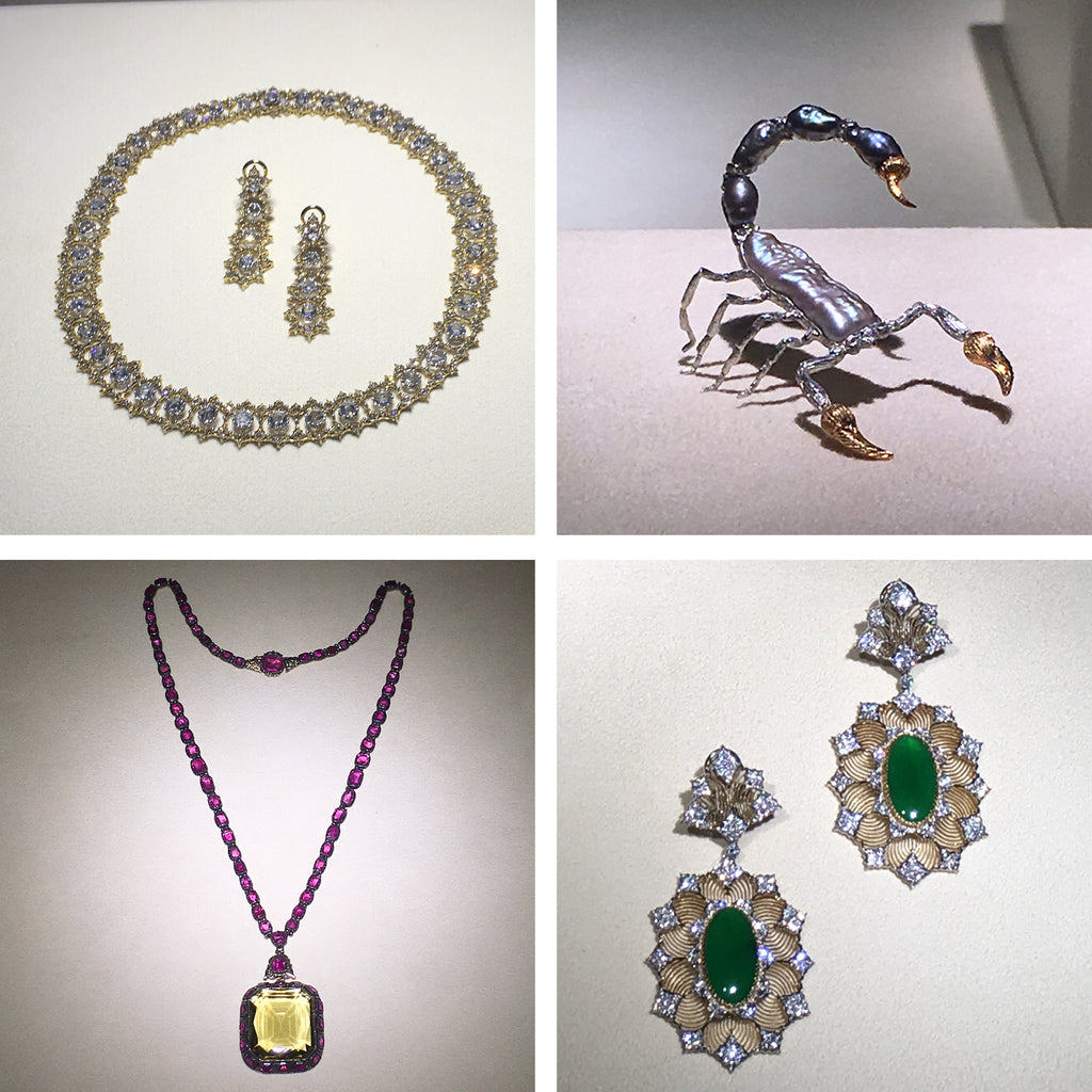 Karin Jacobson Design Blog post travel in Italy Buccellati exhibit