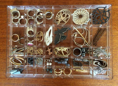 Muji drawer with dividers and jewelry