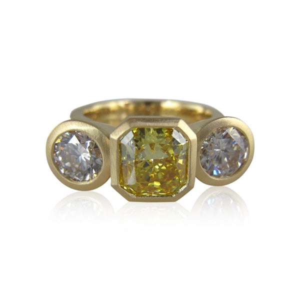 Karin Jacobson Jewelry Design custom diamond ring