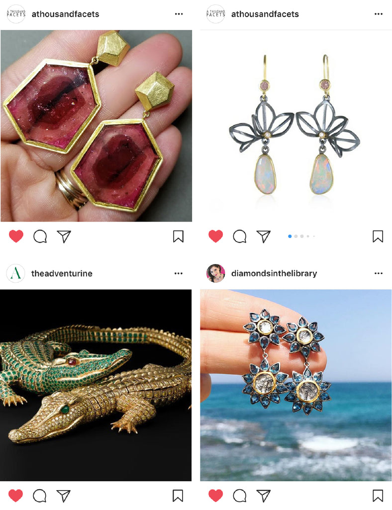 Karin Jacobson Jewelry Design Favorite Instagram Feeds