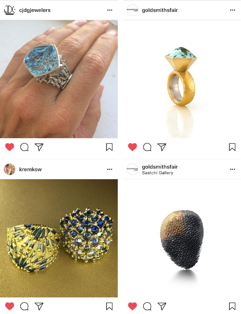 Karin Jacobson Jewelry Design Instagram Feeds to Follow
