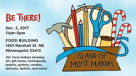 Island of Misfit Makers Craft Show December 2