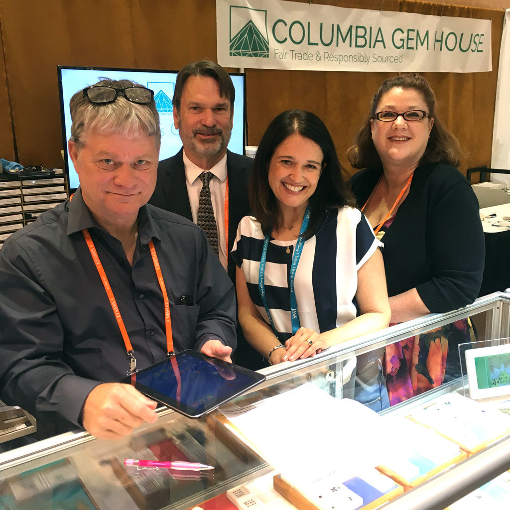 sourcing fair trade gemstones from columbia gem house