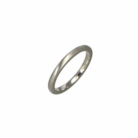 2mm wide half round profile band