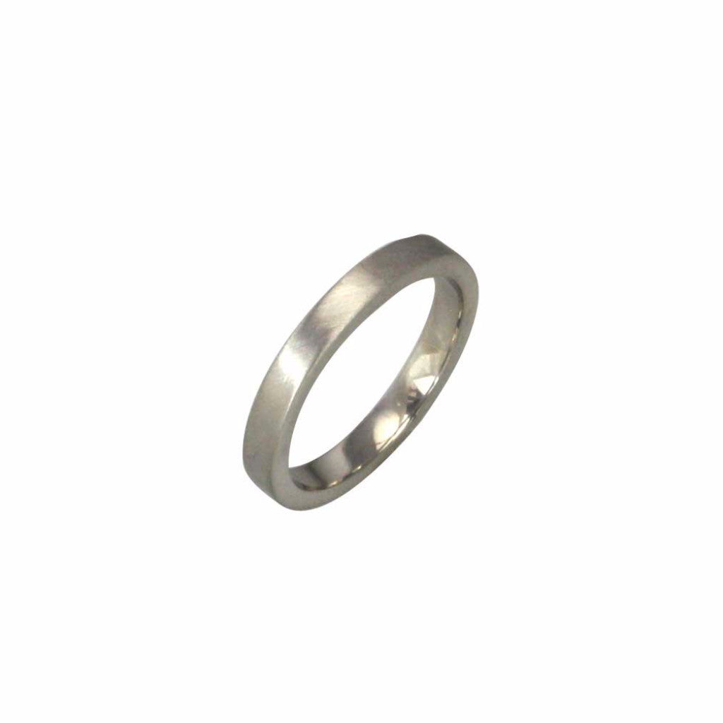 3mm wide flat profile band
