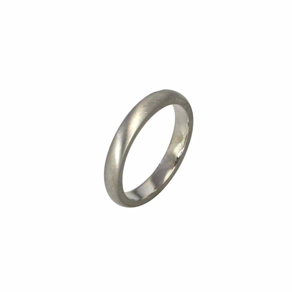 3mm wide half round profile band