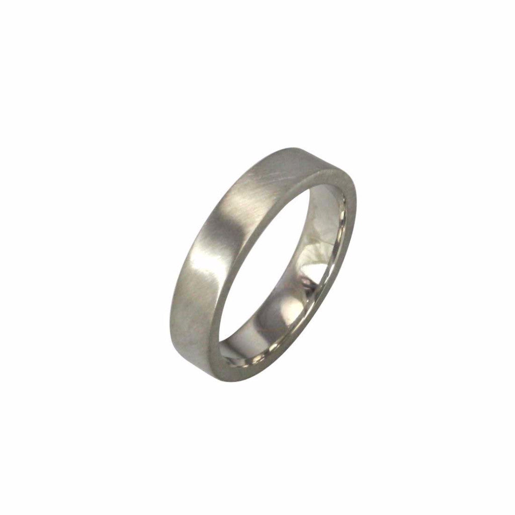 5mm wide flat profile band