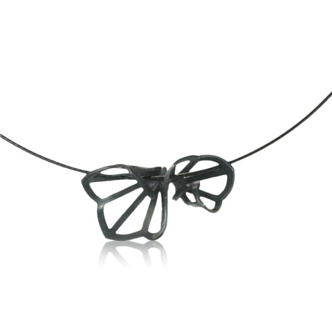 hyacinth fold necklace