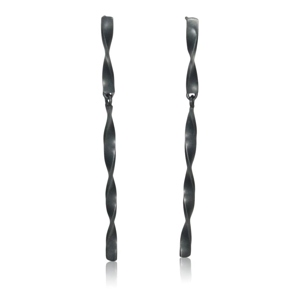 hinged twist earrings