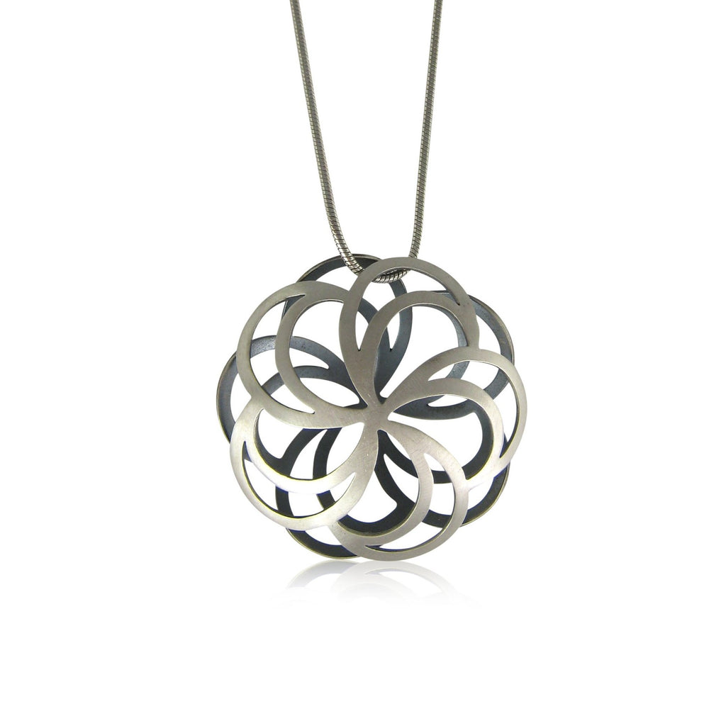 peony pillow necklace