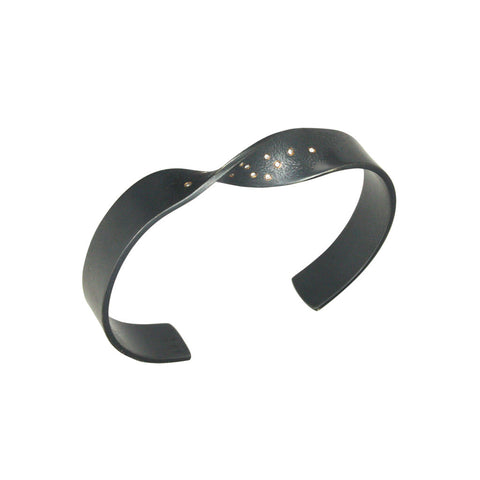 torus tiny diamond bracelet