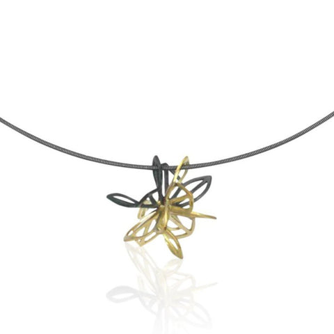 triple anise origami necklace