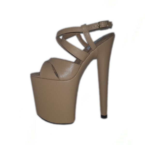 Jacky nude leather sandals