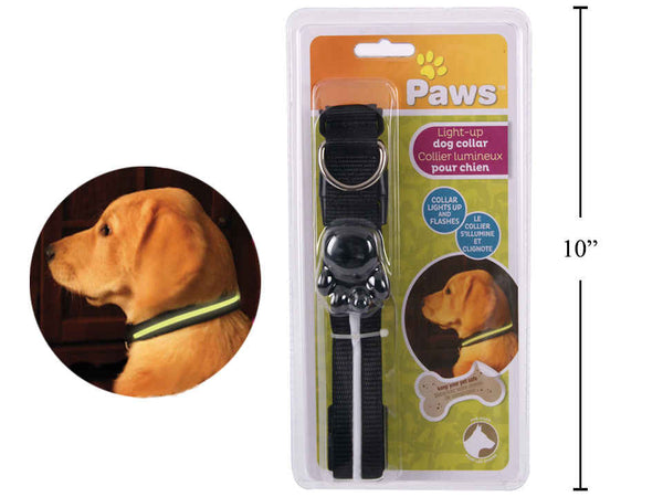 Light Up Pet Safety Collar