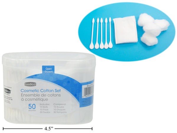 Cotton Balls / Cotton Pads / Cotton Swabs