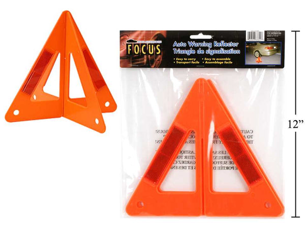 Auto Warning Reflector Triangle