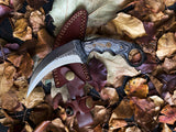 Carbon Steel Titan Raptor - Double Edge Karambit/ High carbon steel/ Tactical/ EDC TC-41