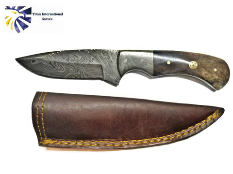 Damascus Camp Style Blade TD-195
