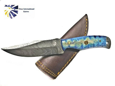 EveryDay Carry Damascus Knife Titan Td-378