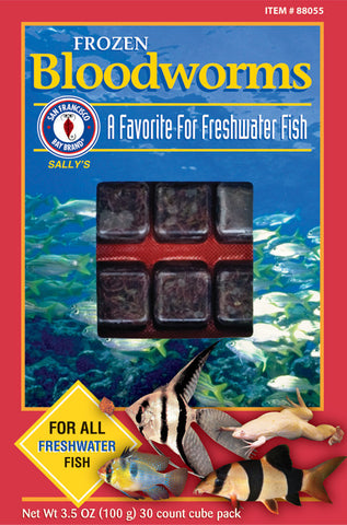 San Francisco Bay Brand - Bloodworms - Sold in Store Only