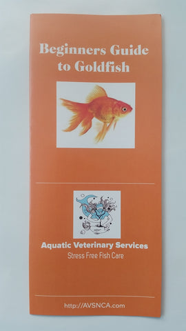 Goldfish Brochure Bundle! - Dr. Sanders FREE Aquatic Animal Health & Husbandry Brochures