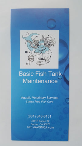 Aquarium Brochure Bundle! - Dr. Sanders FREE Aquatic Animal Health & Husbandry Brochures