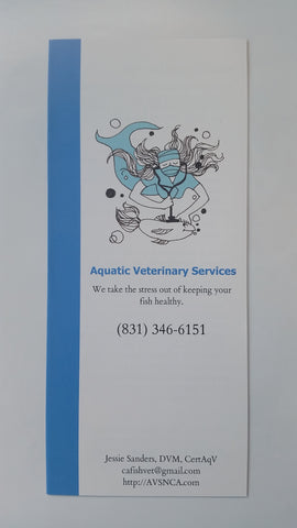 Complete Brochure Bundle! - Dr. Sanders FREE Aquatic Animal Health & Husbandry Brochures