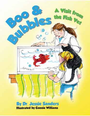 Boo & Bubbles: A Visit From the Fish Vet