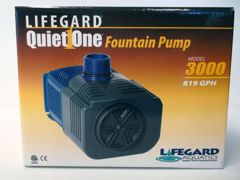 Quiet One Fountain Pump - pump only