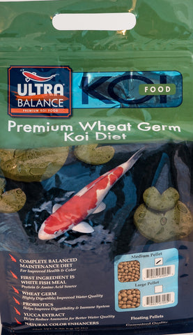 Ultra Balance Koi Wheat Germ/Maintenance formula