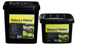 Nature's Choice Barley Straw Pellets - Crystal Clear