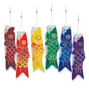 "Windsock- 12"" koi, assorted colors"