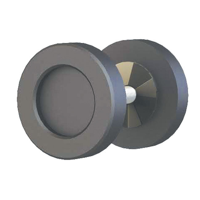 espresso finish 2 inch knob for barndoors