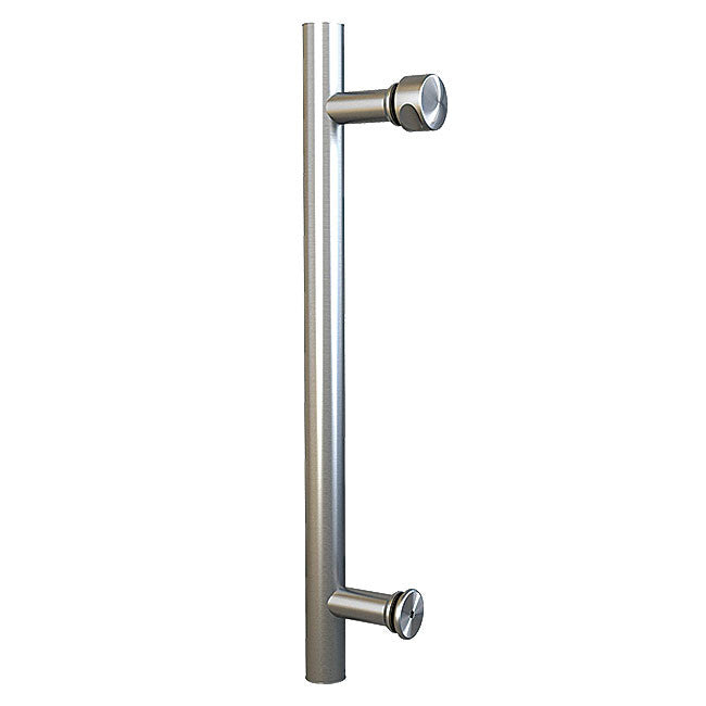 Barndoor stainless steel pull