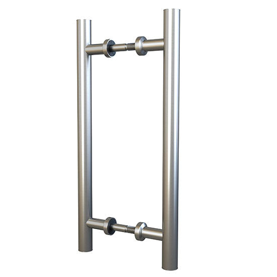 Barndoor double stainless steel pull