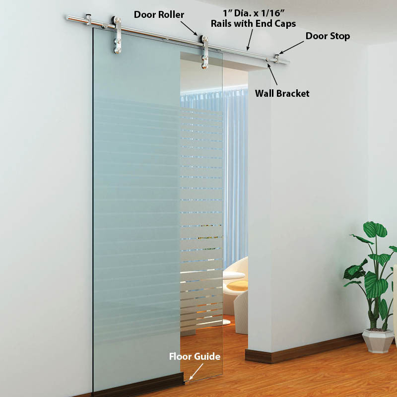The Skyline Single Glass Door Kits Architectural Products By