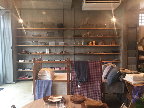Fog Linen Shop Interior