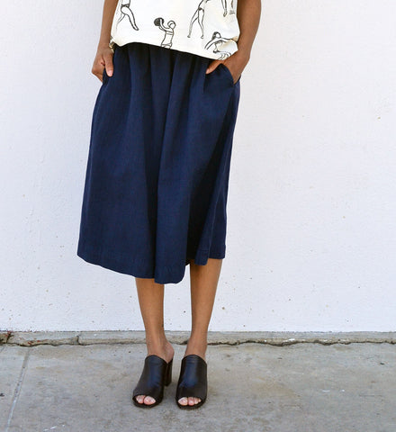 Alyson Fox Navy Culottes